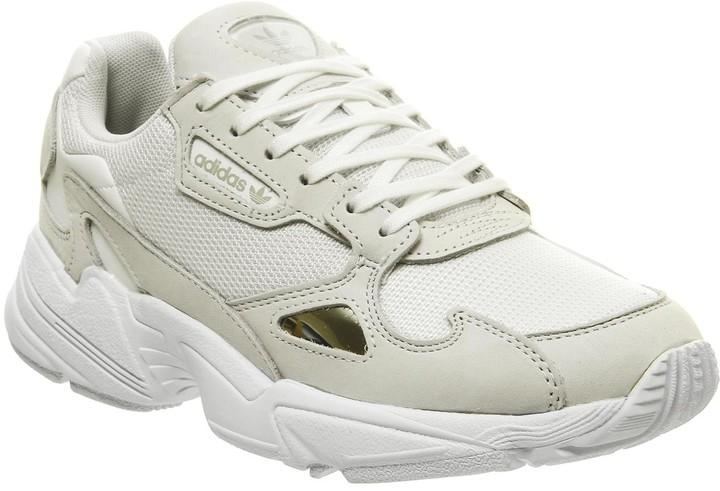 adidas Falcon Trainers White White Crystal White F