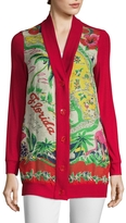 Anna Sui Women's Florida: Land of Sunshine Cardigan