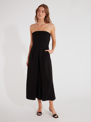 C/Meo Collective Next Step Strapless Wide Leg Jumpsuit