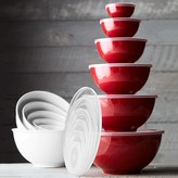 Williams-Sonoma Williams Sonoma Melamine Mixing Bowls with Lid, Set of 6, Red