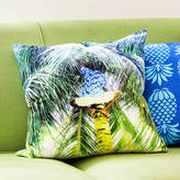 PENELOPE HOPE Tropical Picking Coconuts Print Cushion