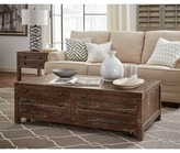 Meltham Wooden 4 Drawer Coffee Table with Storage Gracie Oaks