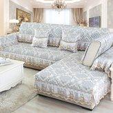 JIN Sofa mats sofa cushion, non-slip faric sofa cushion,simple and modern sofa a full set of