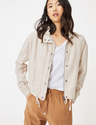 Marks and Spencer Tencel High Neck Bomber Jacket