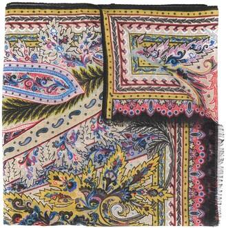 Etro Baroque Printed Scarf