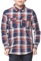 Dex Plaid Button-Down Shirt