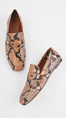 Joseph Snakeskin Loafers