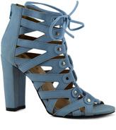 Light Blue Spade Sandal