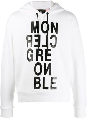 MONCLER GRENOBLE Printed Logo Hoodie