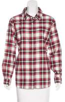 Pendleton Check Button-Up Top