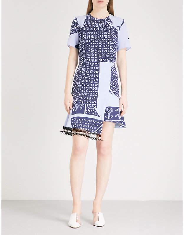 Altuzarra Tournell silk-crepe dress