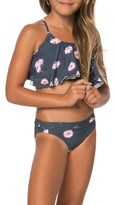 O'Neill Toddler Girl's Daisy Chain Two-Piece Swimsuit