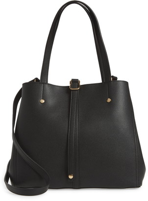 Lulus Back to Business Faux Leather Tote