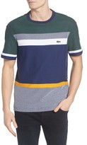 Lacoste Men's Honey Comb Stripe T-Shirt