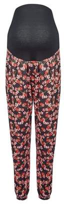 Dorothy Perkins Womens **Maternity Pink Floral Print Joggers