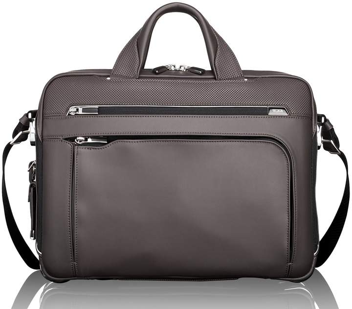 Tumi Arrive - Sawyer Leather Briefcase