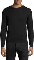 BLK DNM Men's Solid Cotton Sweater
