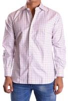 Z Zegna Men's Multicolor Cotton Shirt.