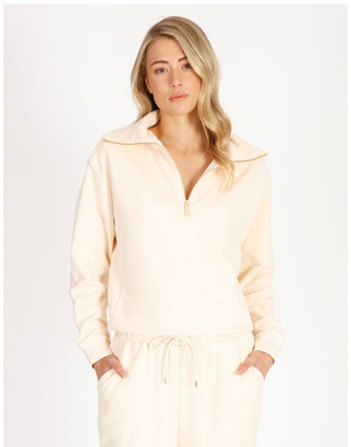 Piper Organic Cotton Zip Up Sweat Top