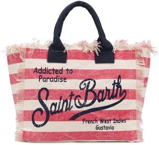 MC2 Saint Barth Vanity striped tote