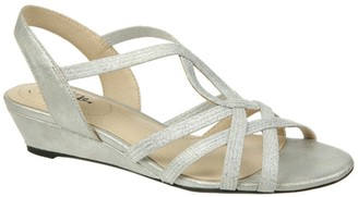 LifeStride Yaya Wedge Sandal - Wide Width Available
