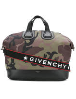 Givenchy Nightingale Camouflage Tote - Green