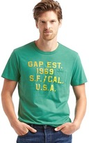 Gap Logo pocket crew tee