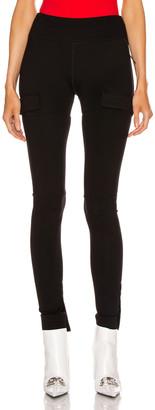 Alyx Velcro Tab Leggings in Black   FWRD
