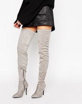 Truffle Collection Thigh High Boot