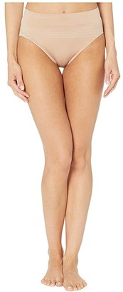 Warner's No Pinching No Problems Seamless High-Cut Panty (Black) Women's Underwear