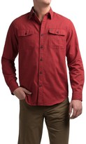 Coleman Solid Flannel Shirt - Long Sleeve (For Men)