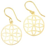 Mela Artisans Filigree in Gold Earrings