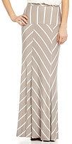 Cremieux Kim Striped Maxi Skirt
