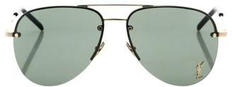 Saint Laurent Classic 59MM Pilot Sunglasses