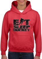 Artix Eat Sleep Hockey Fashion Sports People Best Friend Gift Couples Gift Hoodie For Girls - Boys Youth Kids