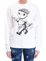 DSQUARED2 Cropped Printed Sweatshirt