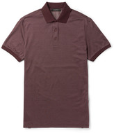 Ermenegildo Zegna Slim-Fit Cotton and Silk-Blend Polo Shirt