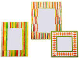 One Kings Lane Asst. of 3 Staten Bone Picture Frames