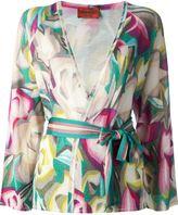 Missoni Vintage floral print wrap cardigan