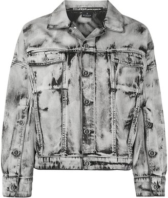 Pinko Oversized Fit Distressed Jacket