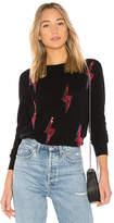 Autumn Cashmere Lightning Bolt Sweater