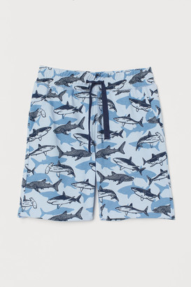 H&M Printed Jersey Shorts