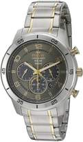 Pulsar Men's 'Chronograph Solar' Quartz Stainless Steel Dress Watch (Model: PX5057)
