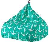 Linen House Outdoor Bean Bags Anchors Aweigh Outdoor Bean Bag Cover, Small