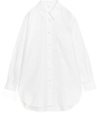 Arket Oversized Linen Shirt