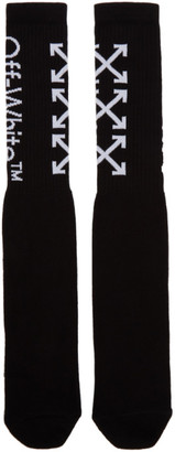 Off-White Black and White Arrows Socks