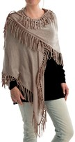Minnie Rose Fringe Shawl - Cotton (For Women)