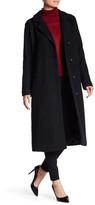 Andrew Marc Long Sleeve Wool Blend Lela Coat