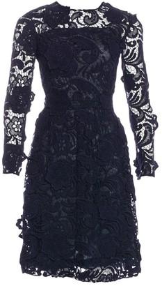Prada Blue Lace Dresses