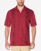 Cubavera Men's Geometric Panel Shirt